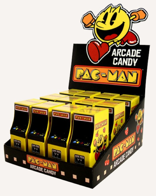 Pac-Man Arcade Cabinet CandyPet Penguin